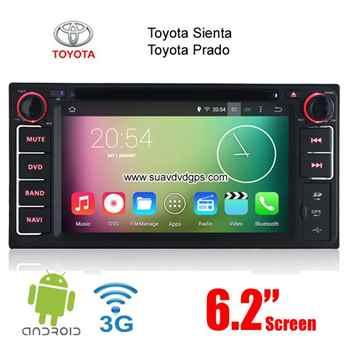 Toyota Sienta Prado Android Car Radio WIFI 3G DVD GPS